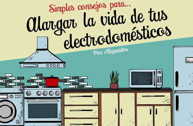Como alargar la vida de tus electrodomésticos